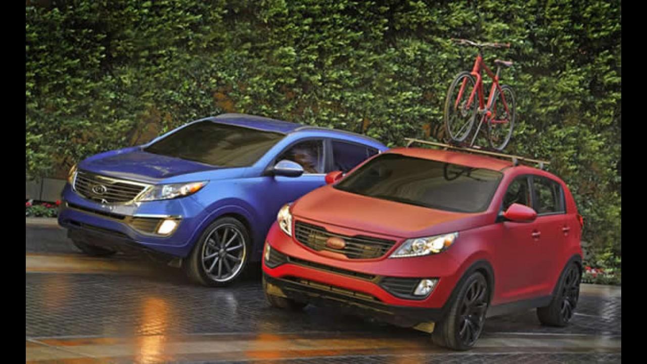 Kia prepara duas versões do Novo Sportage para o SEMA
