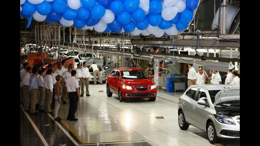 Chevrolet anuncia abertura de terceiro turno de produção na fábrica de Gravataí