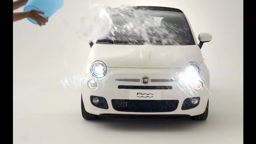 "Fiat 500 participa do ""Desafio do Gelo"" e convoca up!, MINI e Twingo"