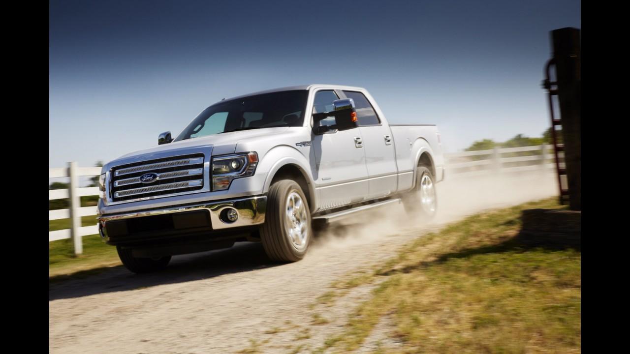 Ford usará alumínio para deixar F-150 mais leve e econômica na próxima geração