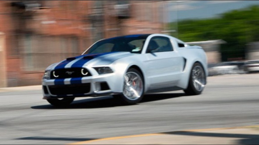"Ford prepara um Mustang Shelby GT500 para o filme ""Need for Speed"""