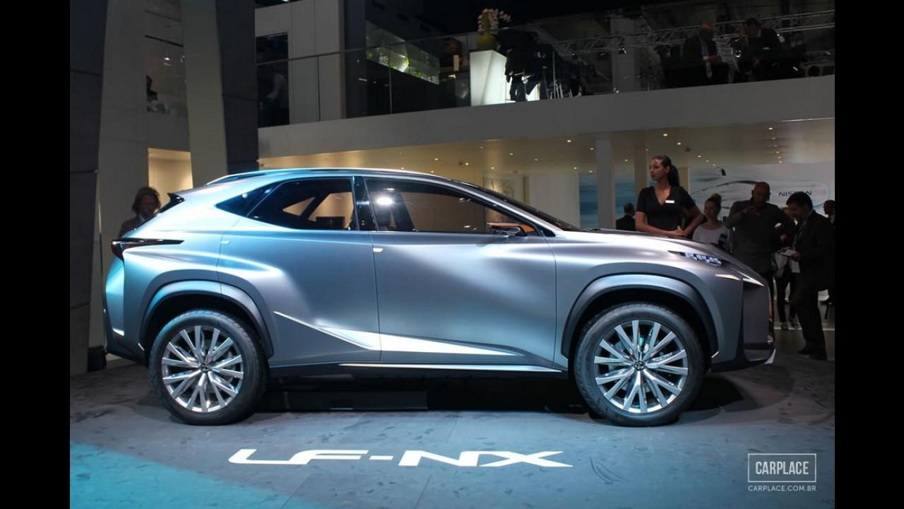 Salão de Frankfurt: Lexus LF-NX Concept antecipa o inédito SUV compacto da marca