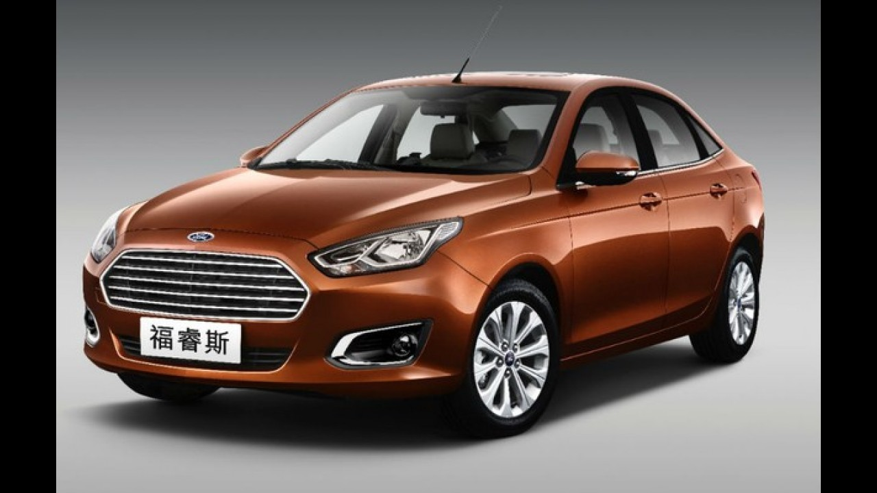 Salão de Pequim: Ford marca retorno do Escort
