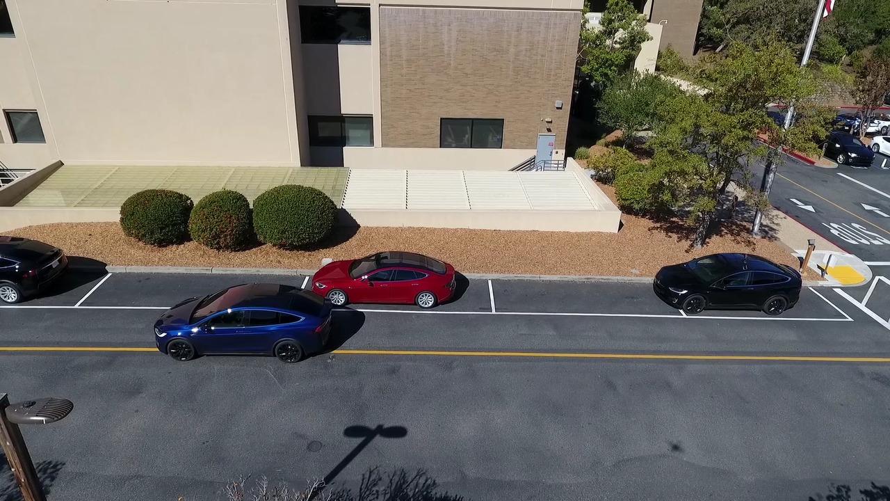 Autonomous Tesla Model X