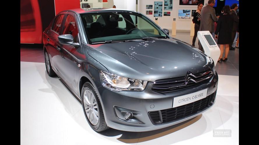 Salão de Paris: Citroën C-Elysée - Será que vem pro Brasil?