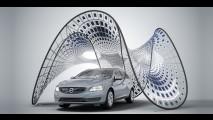 Volvo Pure Tension é conceito ecológico com super painéis solares