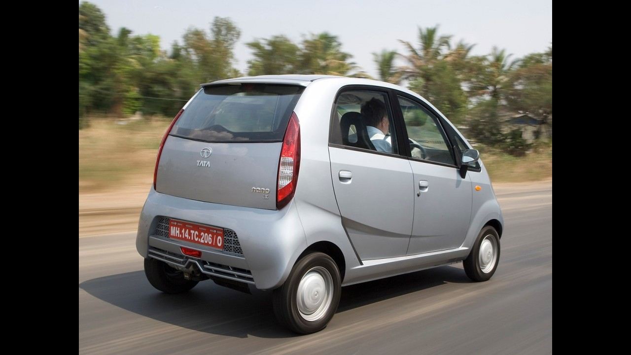 Tata apostará em versões luxuosas para elevar vendas do Nano