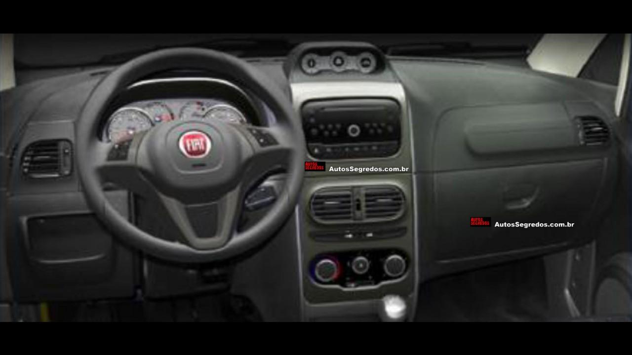 Fiat Idea vai trazer leves mudanças na linha 2014