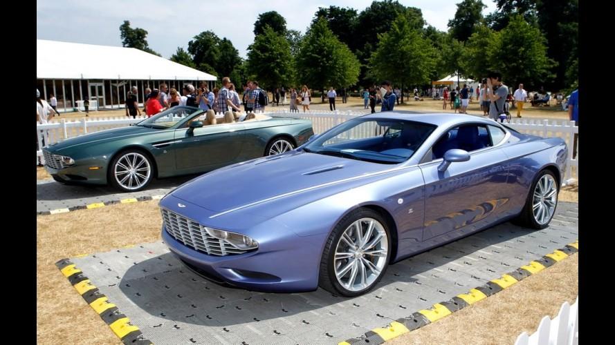Aston Martin DBS Coupé Zagato Centennial tem estilo controverso e resgata o passado
