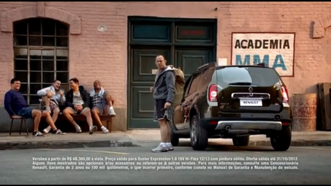 VÍDEO: Renault Duster e os atletas do MMA