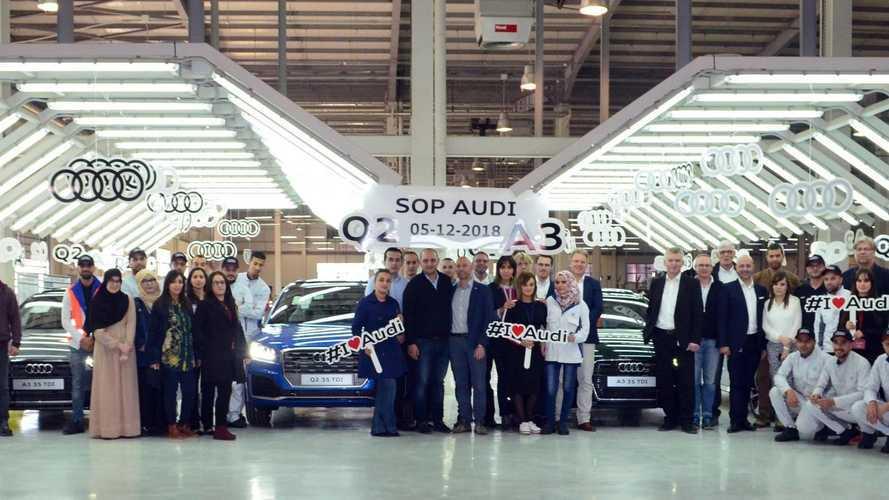 Audi va assembler des A3 et Q2 en Algérie