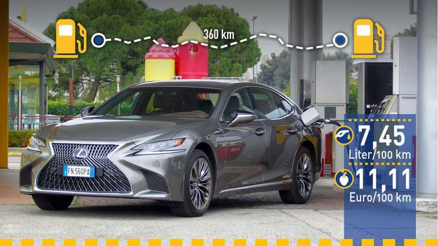 Tatsächlicher Verbrauch: Lexus LS 500h im Test