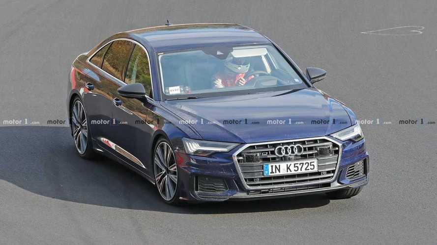 Audi S6 Spy Shots
