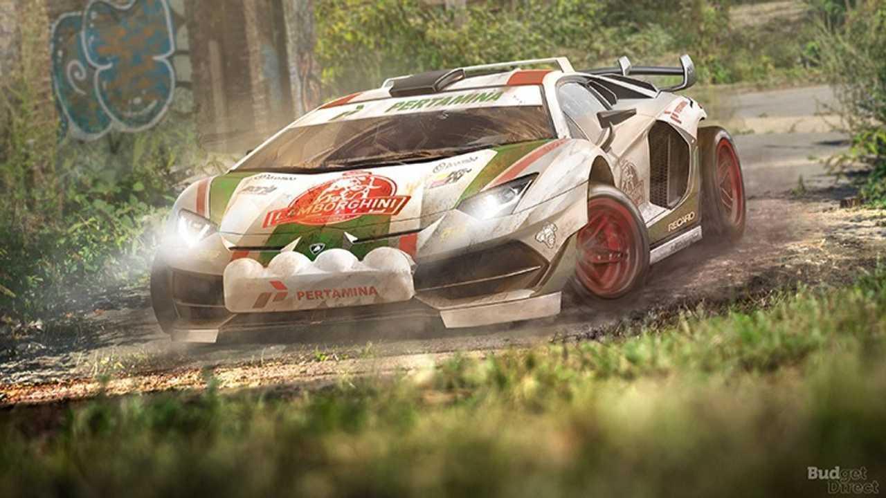5. Lamborghini Aventador SVJ
