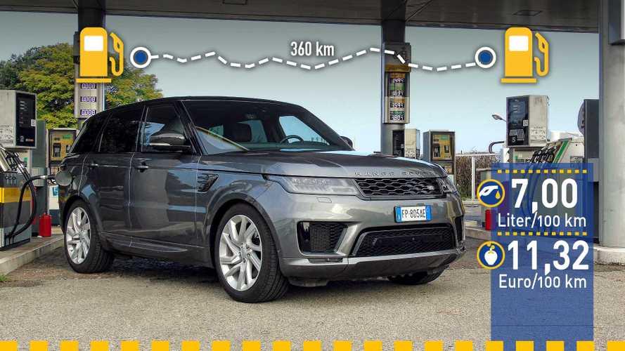 Tatsächlicher Verbrauch: Range Rover Sport PHEV im Test