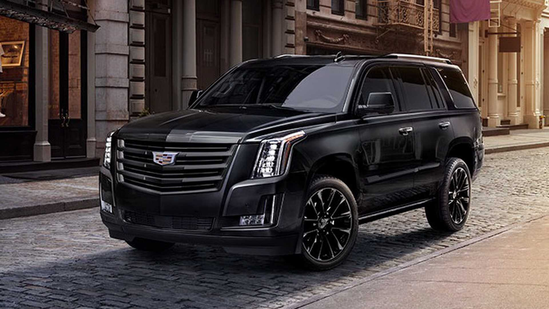 Cadillac Escalade Sport Edition Debuts With Murdered Out Look