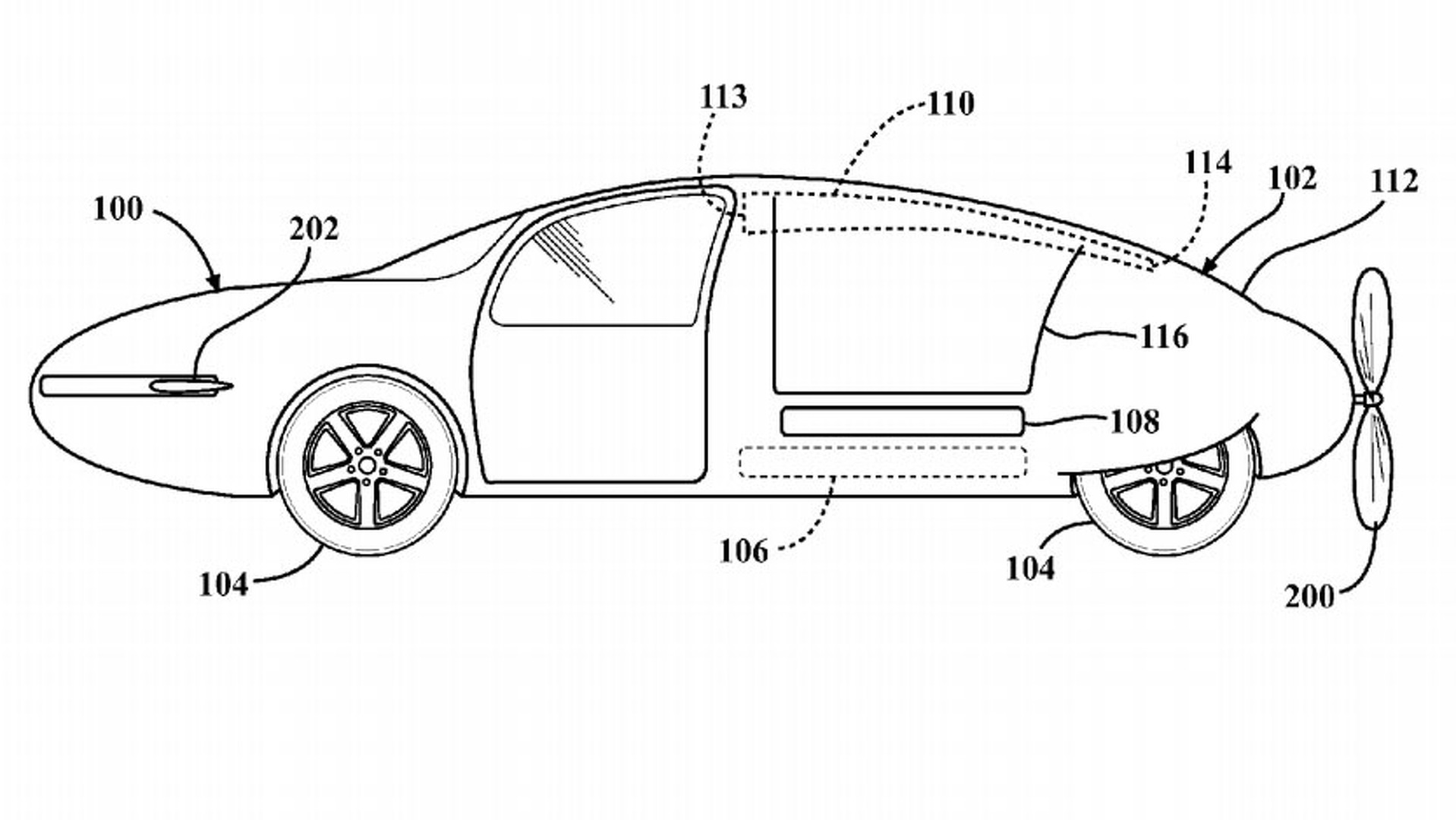 toyota patents shape shifting body for a flying car Hover Cars of the Future