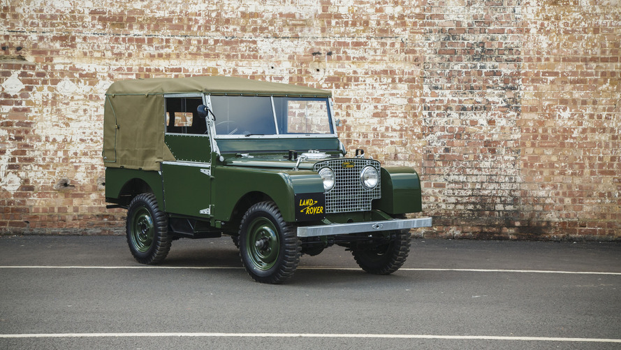 Land Rover to offer 25 fully restored Series I models