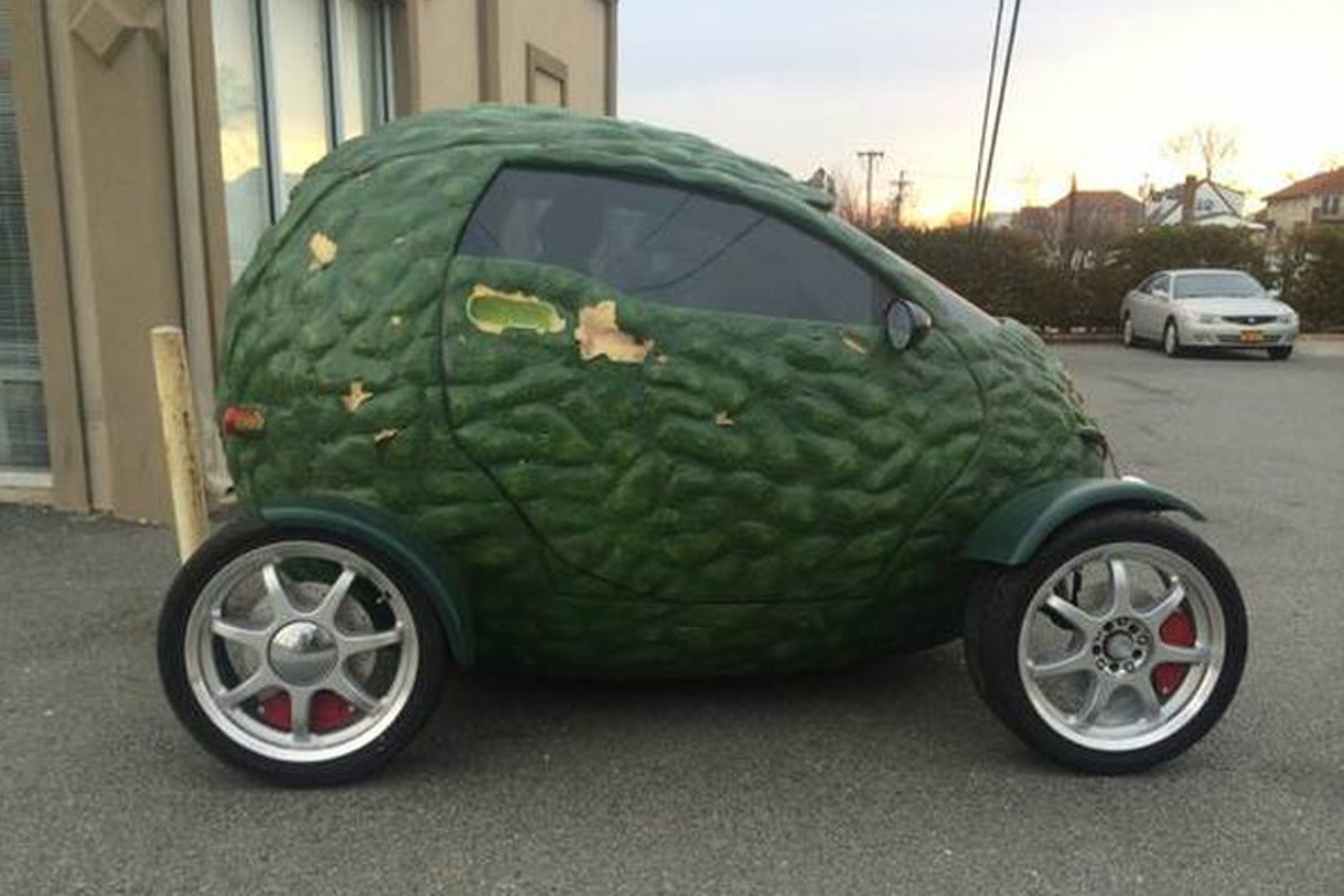Found On Craigslist Buy This Amazing Avocado Car