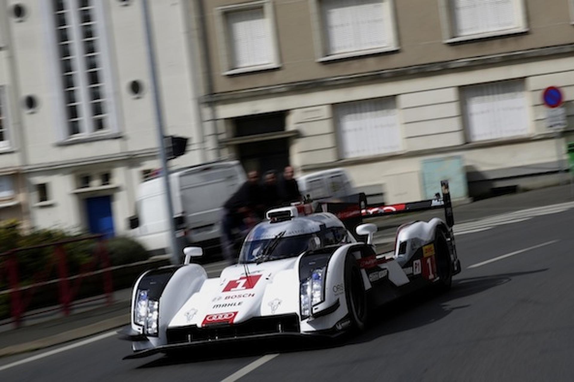 Audi R18 Race Car on Public Streets Is a Fantasy Come True [video]