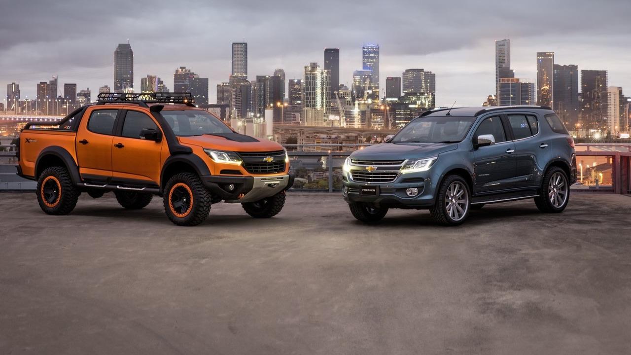 Chevy Colorado Xtreme Trailblazer Premier Concepts Revealed 54 Pics