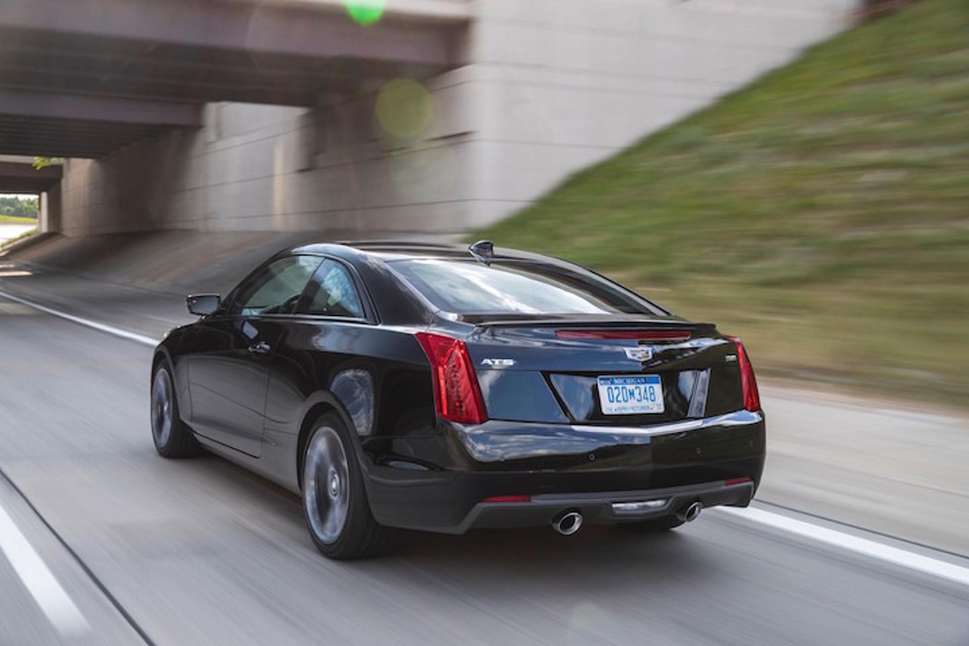 2017 Cadillac ATS 'Carbon Black' Aims to Impress Enthusiasts