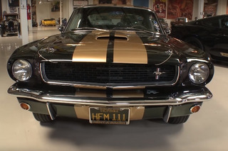 Jay Leno Tries Out the '66 Shelby Mustang GT350 H and Its Modern Counterpart