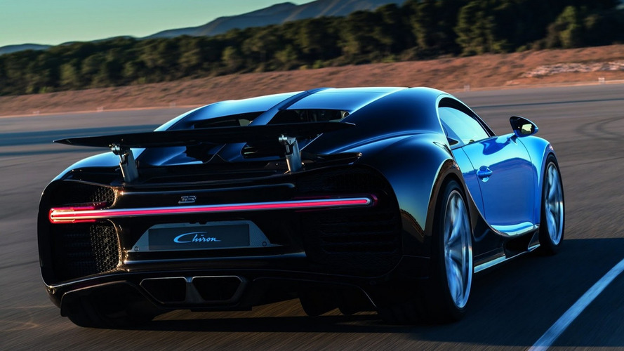 Bugatti Chiron, hibrit eleman ile daha da güçlenebilir