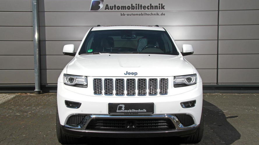 B&B Automobiltechnik tunes the Jeep Grand Cherokee CRD