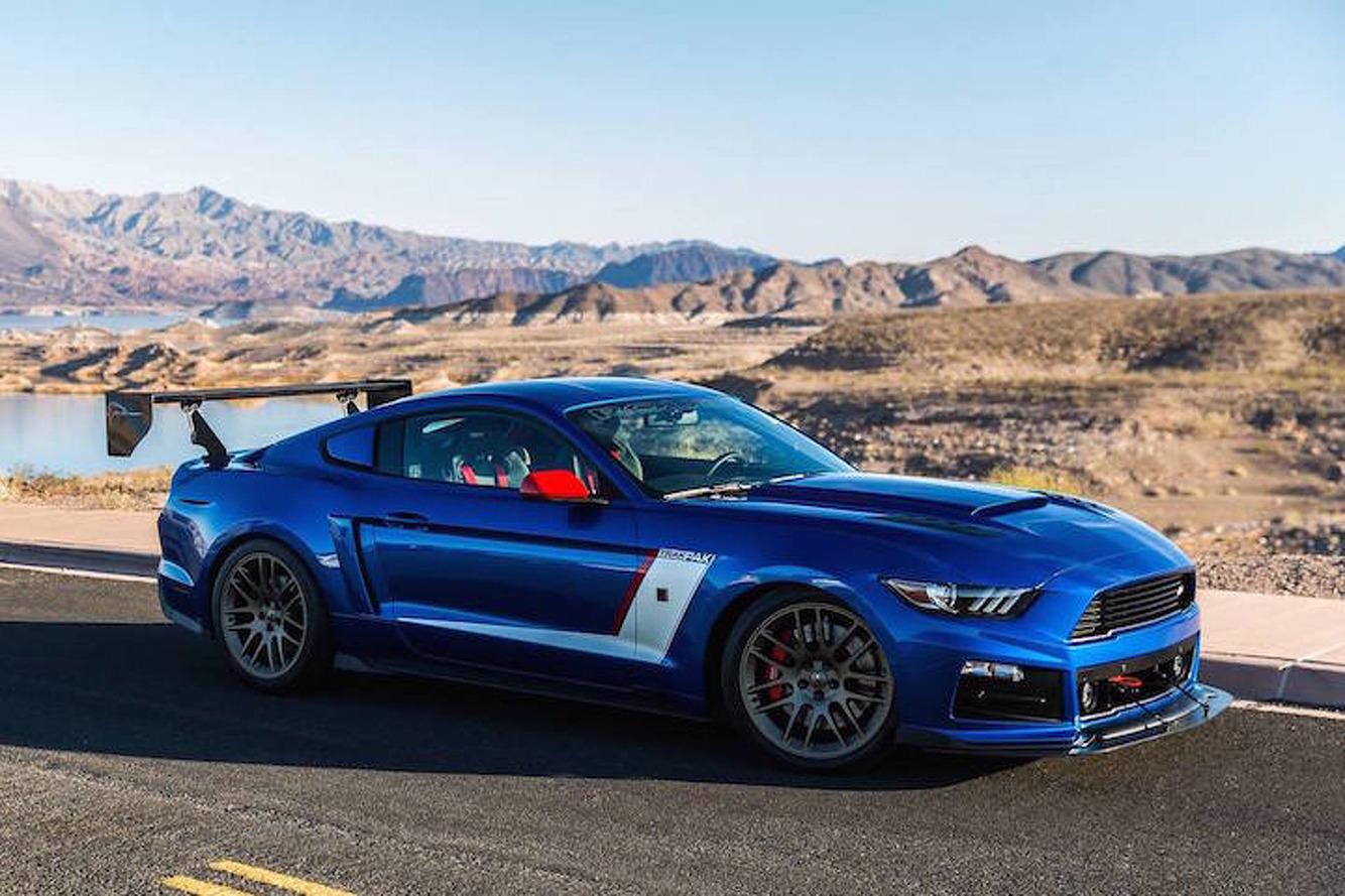 850-HP Roush Mustang Might be the Most Menacing Car You See at SEMA