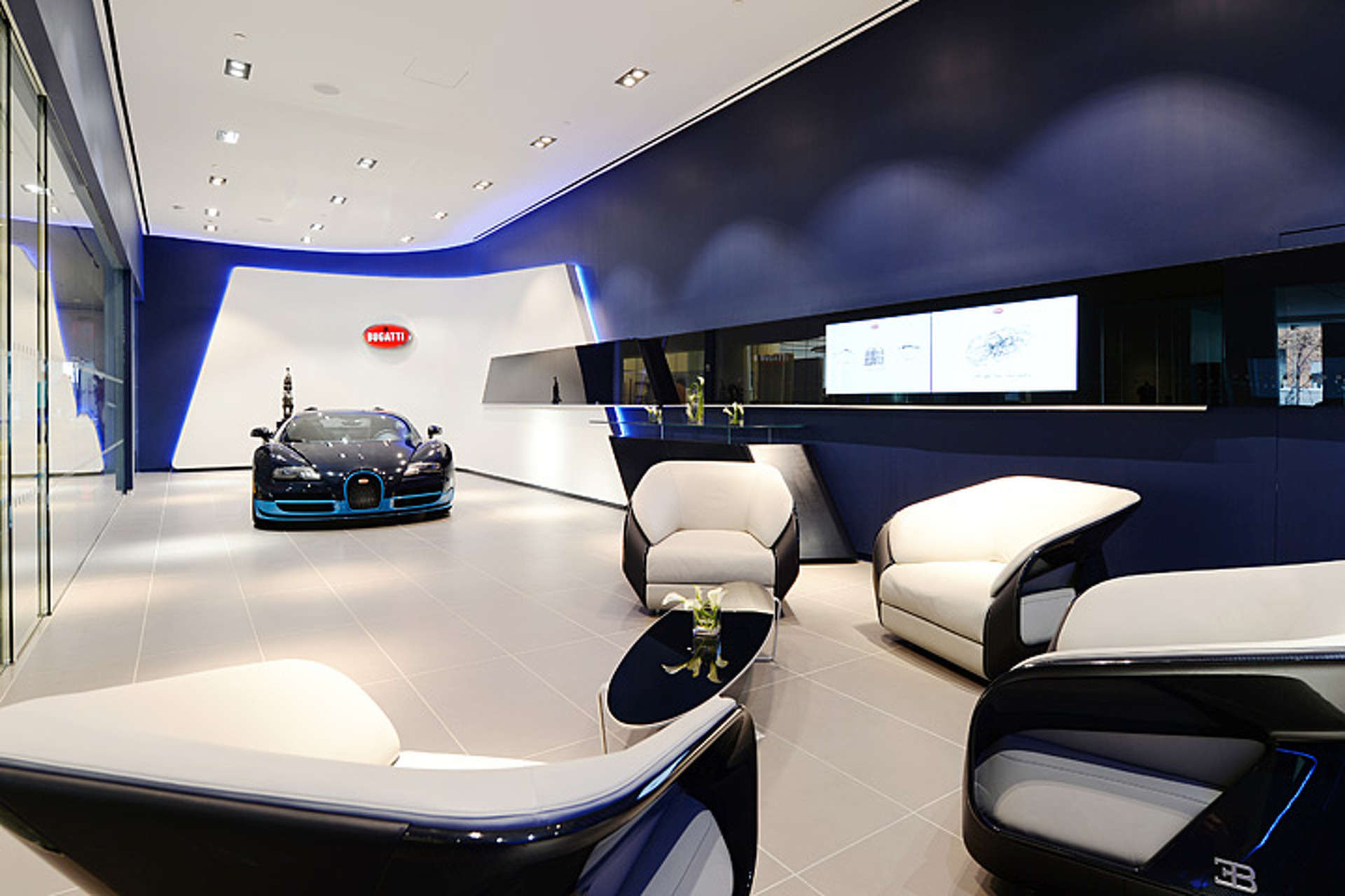 A Look Inside Bugatti S Refreshed Nyc And Miami Showrooms