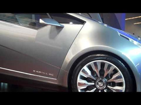 Cadillac Urban Luxury Concept car at NYC car show