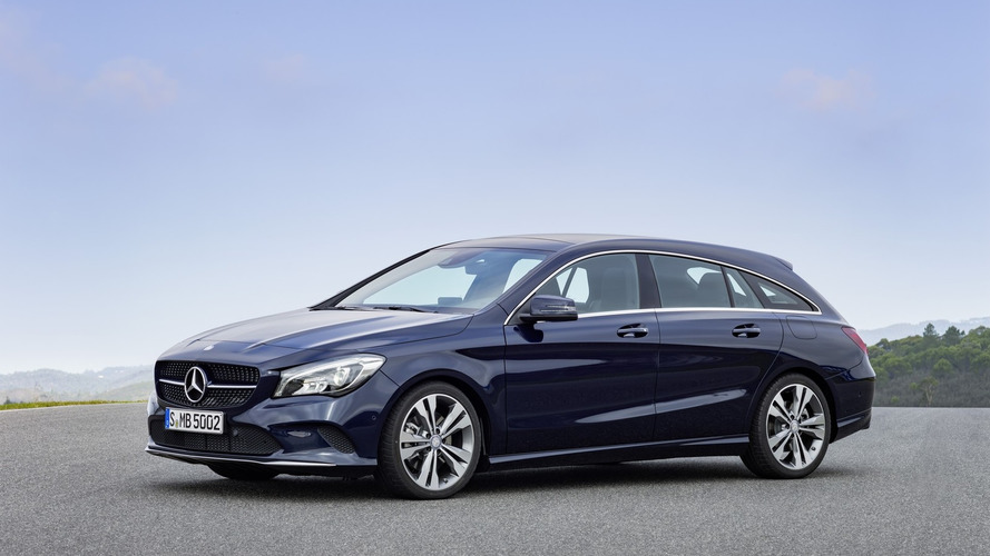 Mercedes CLA Coupé y Shooting Brake 2016