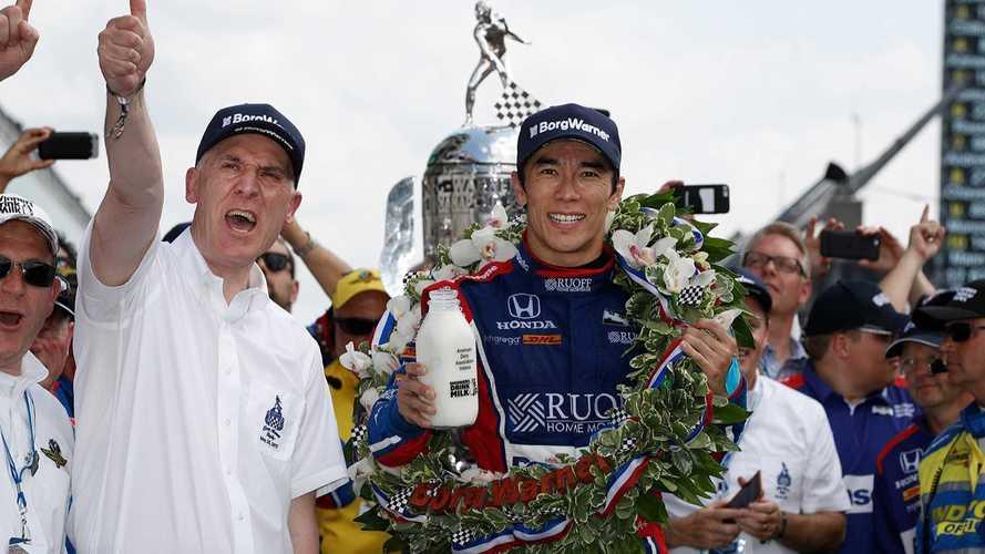 Takuma Sato Indy 500 win