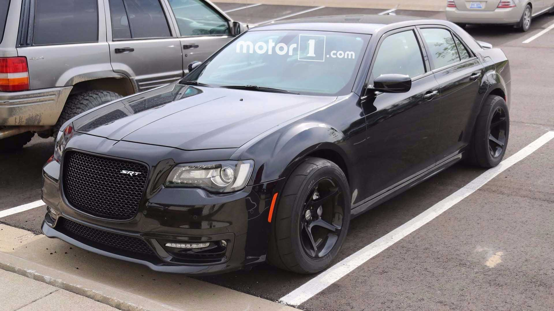 Hellcat All The Things Chrysler 300 Spied With Telltale Clues