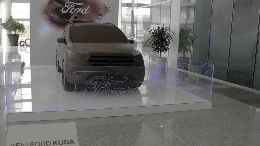 Ford Kuga'nın çikolatadan heykeli yapıldı