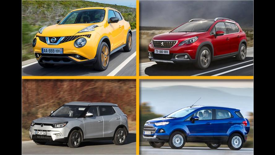 Top 10: Die günstigsten Kompakt-SUVs mit Diesel