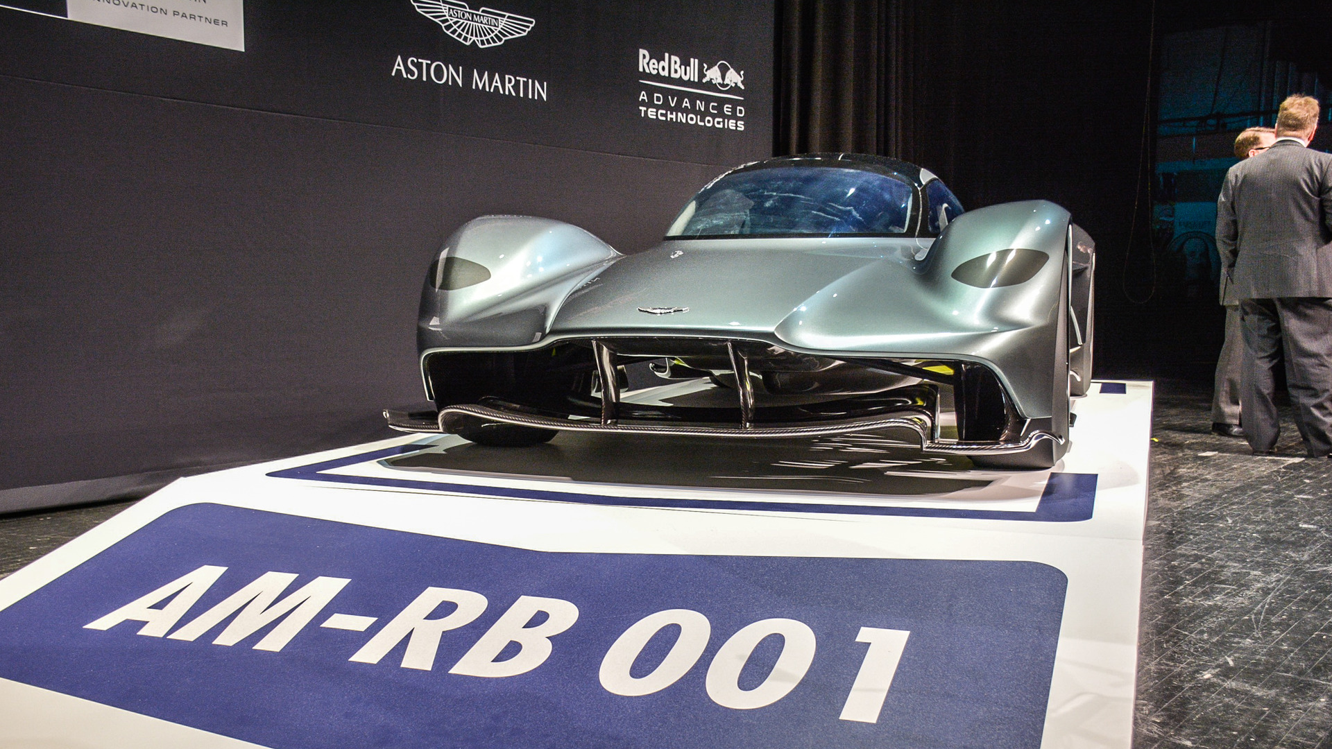Aston Martin Am Rb 001 Hybrid Hits Auto Show Circuit In Toronto