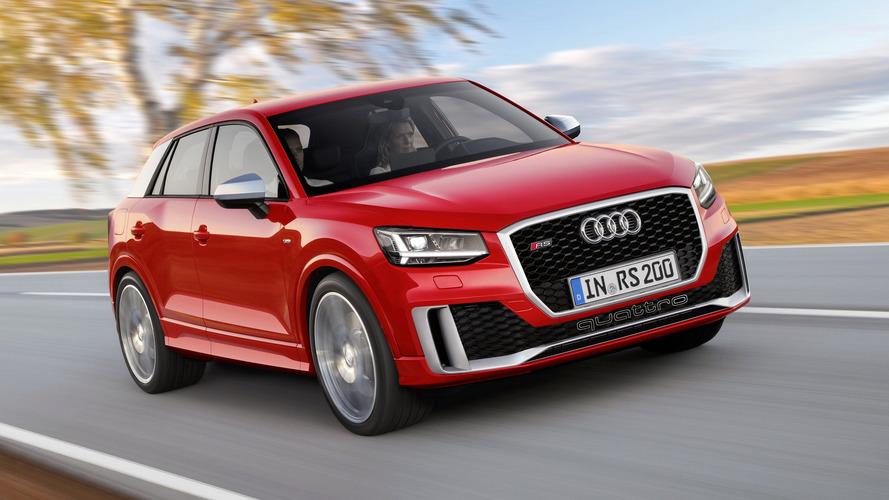 Audi SQ2 et RS Q2 imaginées