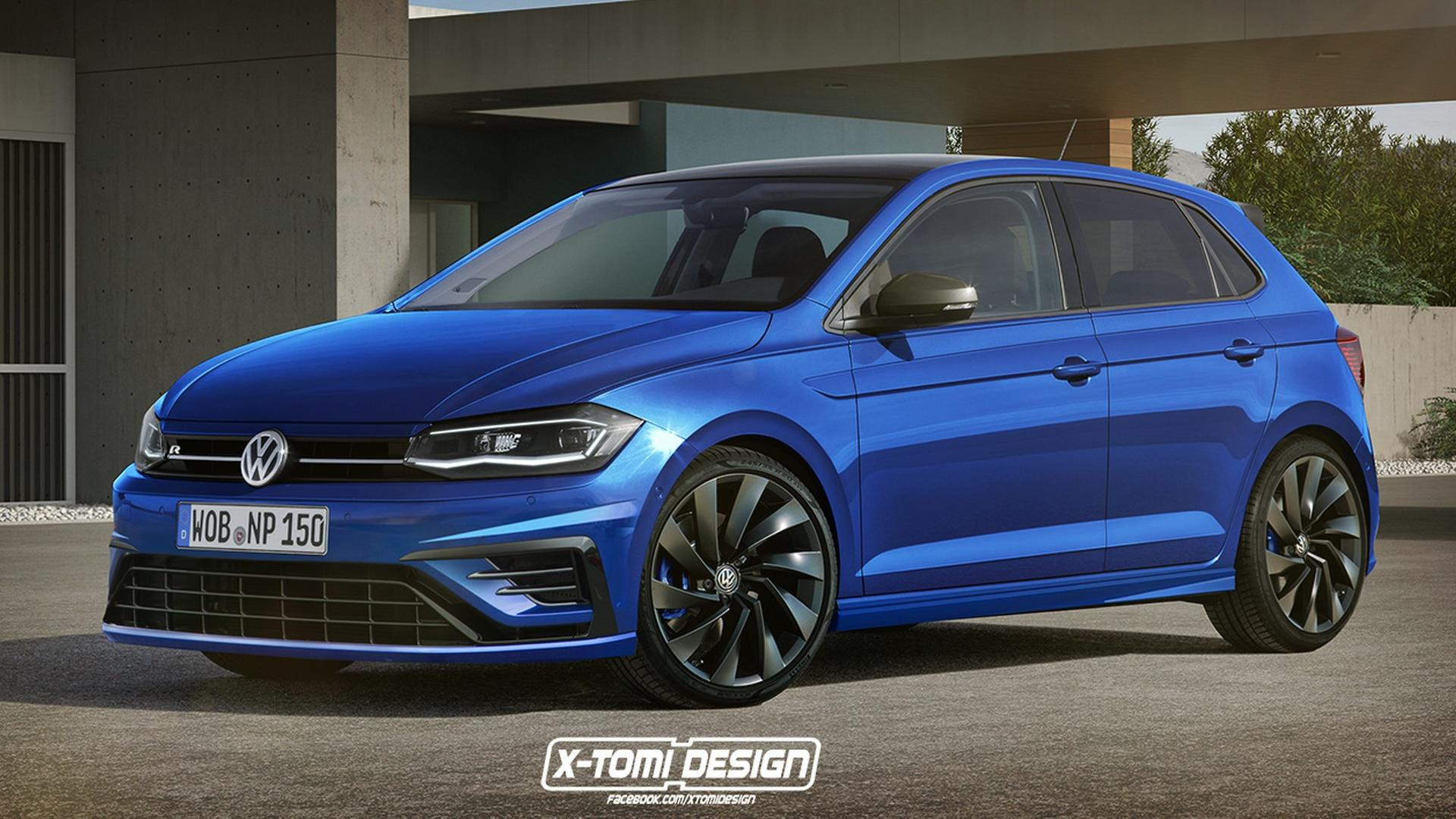 300 Horsepower Vw Polo R Believed To Be In Testing Phase Already