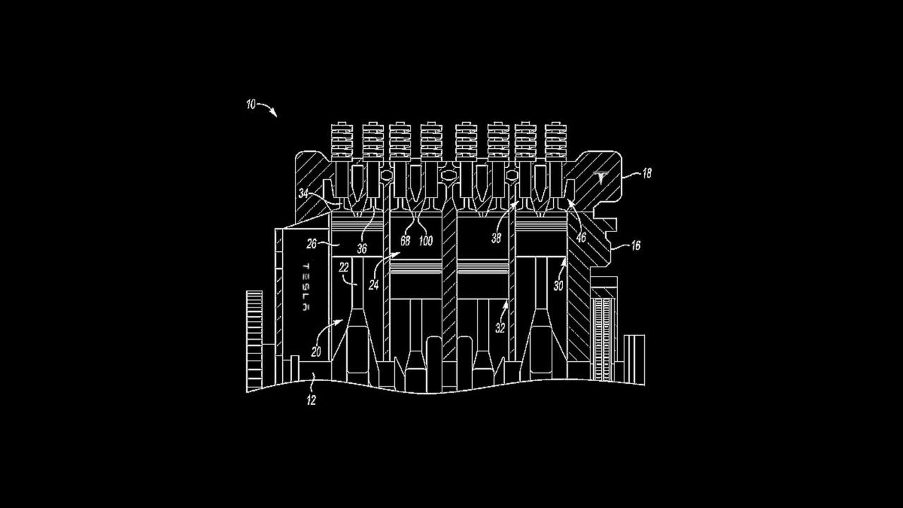 Tesla Engine Patent