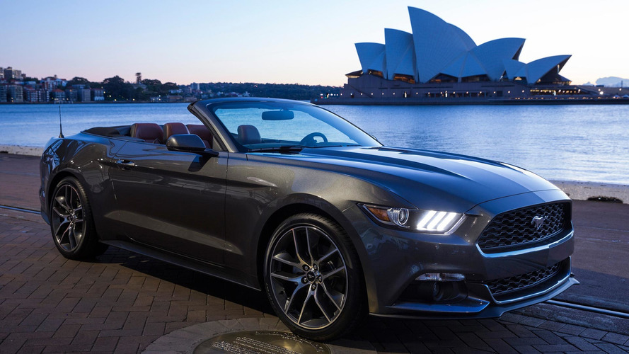Ford Mustang autour du globe