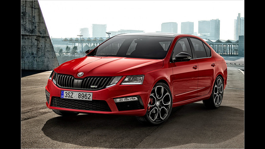 Skoda pumpt 245 PS in den Octavia RS