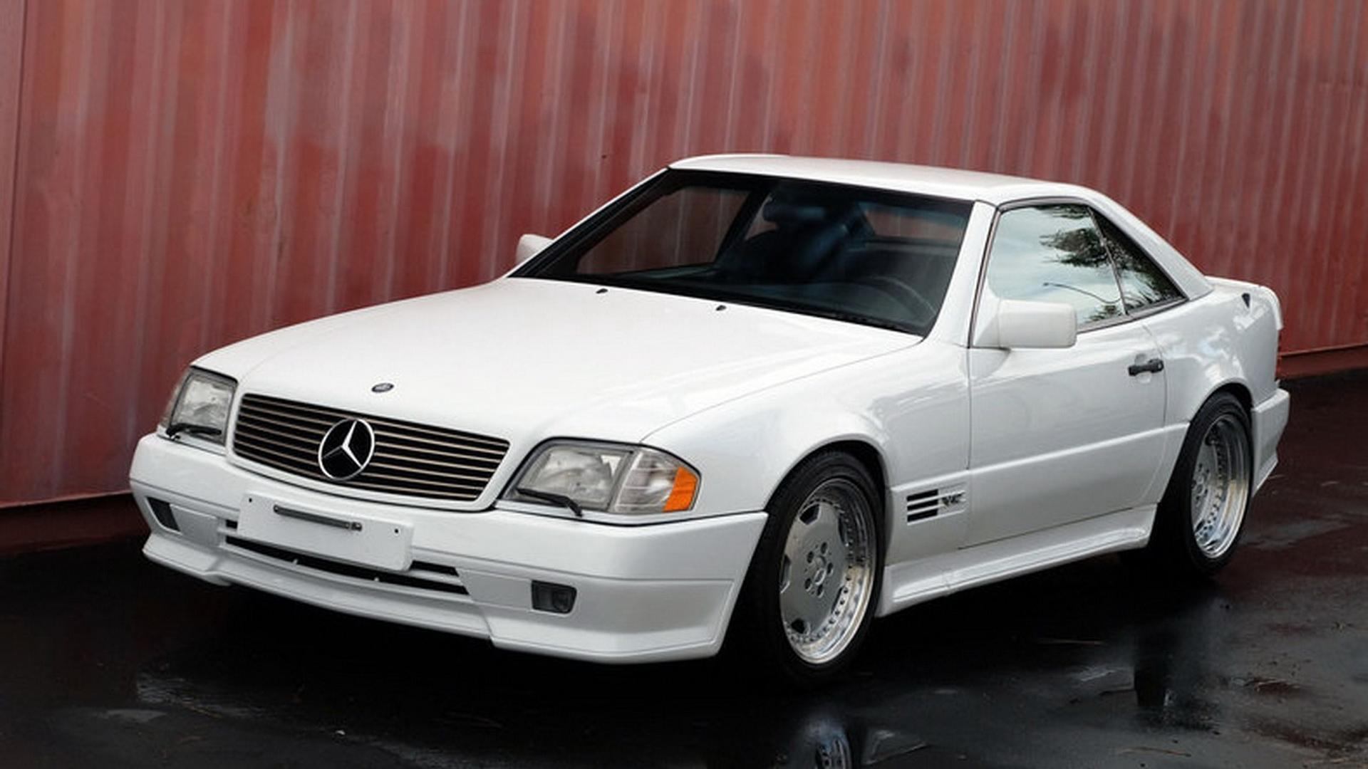 Be The Envy Of The Neighborhood With This Mercedes Sl 72 Amg