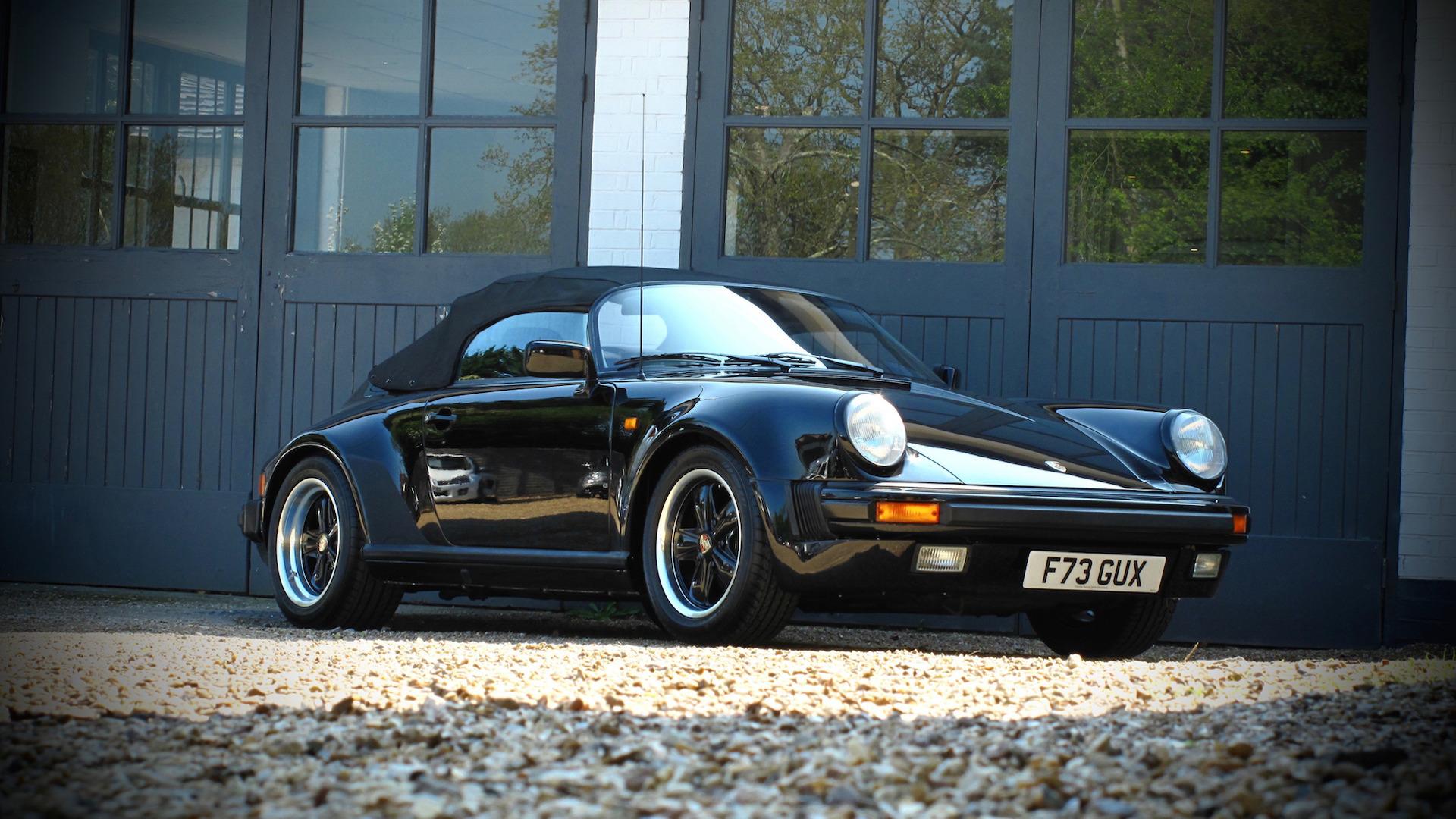 Auction Bound Porsche 911 Speedster Has Driven Just 5590 Miles