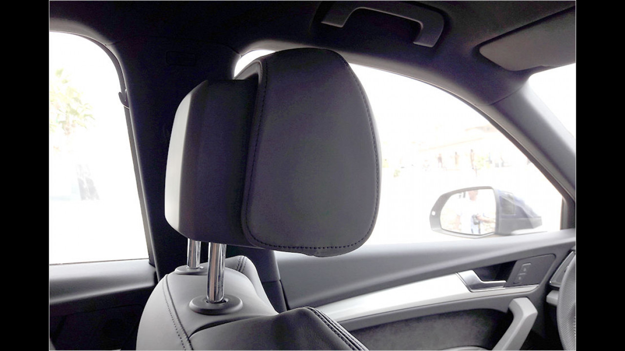 Cockpit: ,Längsverstellbare