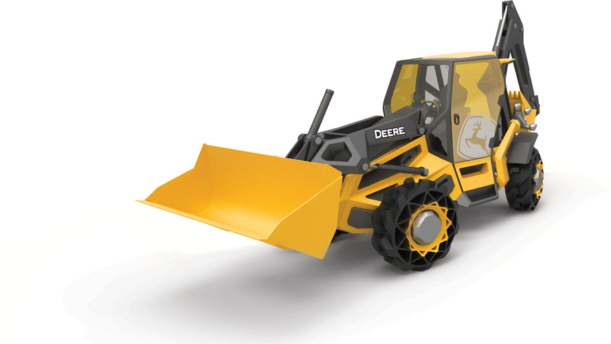 BMW and John Deere created the backhoe of the future