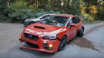 Subaru WRX STI Crash