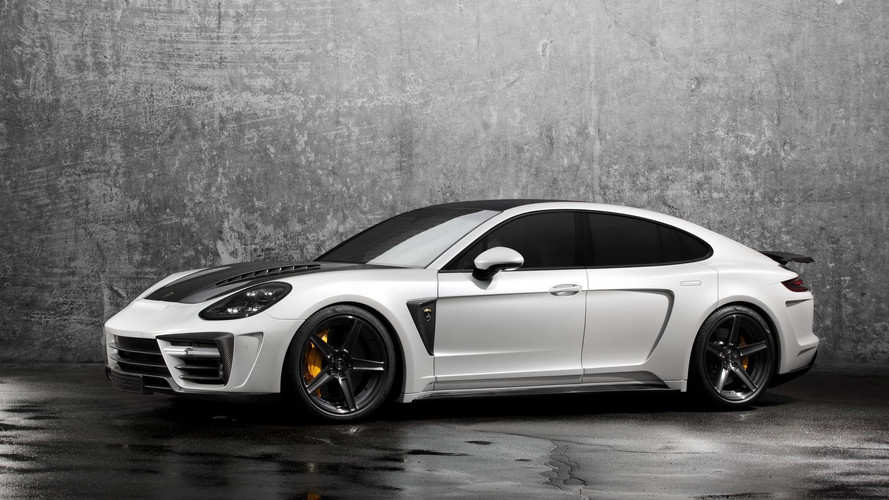 Vonzó darab lett a TopCar által megdolgozott Porsche Panamera Stingray GTR Edition