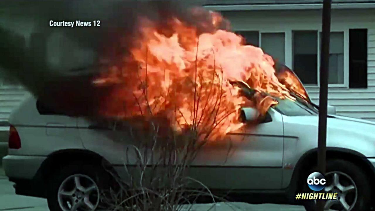 BMW X5 Fire